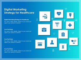 Digital Marketing Strategy For Healthcare Ppt Powerpoint Presentation Slide Download