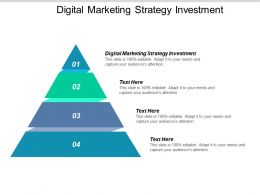 Digital Marketing Strategy Investment Ppt Powerpoint Presentation Summary Clipart Images Cpb