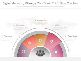 Digital Marketing Strategy Plan Powerpoint Slide Graphics