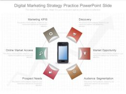 Digital Marketing Strategy Practice Powerpoint Slide