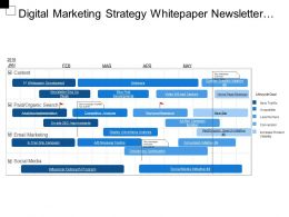 Digital Marketing Strategy Whitepaper Newsletter Social Media Paid Organic Search