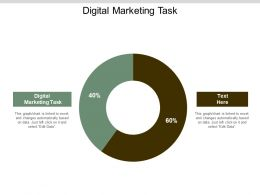 Digital Marketing Task Ppt Powerpoint Presentation Gallery Design Ideas Cpb