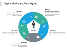 Digital Marketing Techniques Ppt Powerpoint Presentation Icon Graphic Tips Cpb
