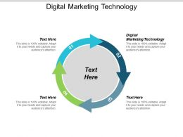 Digital Marketing Technology Ppt Powerpoint Presentation Portfolio Backgrounds Cpb