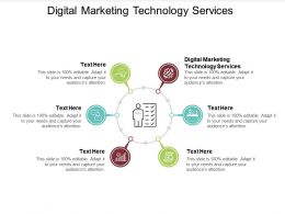 Digital Marketing Technology Services Ppt Powerpoint Presentation Layouts Cpb