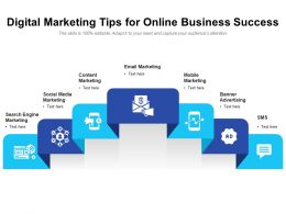 Digital Marketing Tips For Online Business Success
