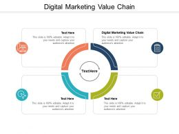 Digital Marketing Value Chain Ppt Powerpoint Presentation Layouts Demonstration Cpb