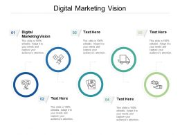 Digital Marketing Vision Ppt Powerpoint Presentation Summary Smartart Cpb
