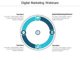 Digital Marketing Webinars Ppt Powerpoint Presentation File Good Cpb