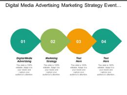 Digital Media Advertising Marketing Strategy Event Marketing Promotions Cpb