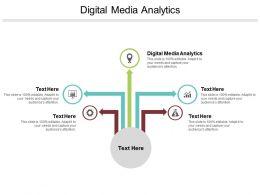 Digital Media Analytics Ppt Powerpoint Presentation File Mockup Cpb