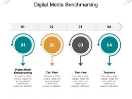 Digital Media Benchmarking Ppt Powerpoint Presentation Ideas Objects Cpb