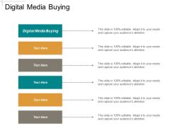 Digital Media Buying Ppt Powerpoint Presentation Ideas Outfit Cpb