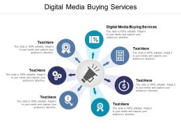 Digital Media Buying Services Ppt Powerpoint Presentation Samples Cpb