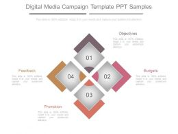 Digital Media Campaign Template Ppt Samples