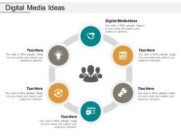 Digital Media Ideas Ppt Powerpoint Presentation Outline Example Cpb