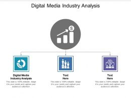 Digital Media Industry Analysis Ppt Powerpoint Presentation File Layout Cpb