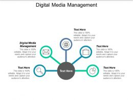 Digital Media Management Ppt Powerpoint Presentation Icon Template Cpb