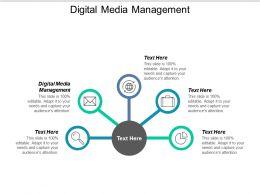 Digital Media Management Ppt Powerpoint Presentation Styles Slide Download Cpb