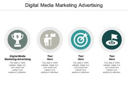 Digital Media Marketing Advertising Ppt Powerpoint Presentation Ideas Good Cpb