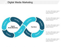 Digital Media Marketing Ppt Powerpoint Presentation Infographic Template Visuals Cpb