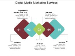 Digital Media Marketing Services Ppt Powerpoint Presentation Outline Design Inspiration Cpb