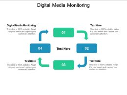 Digital Media Monitoring Ppt Powerpoint Presentation Icon Example Cpb