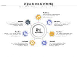 Digital Media Monitoring Ppt Powerpoint Presentation Layouts Ideas Cpb