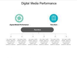 Digital Media Performance Ppt Powerpoint Presentation File Graphics Cpb