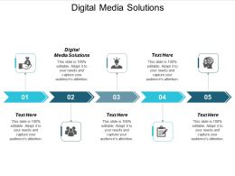 Digital Media Solutions Ppt Powerpoint Presentation Outline Graphics Cpb