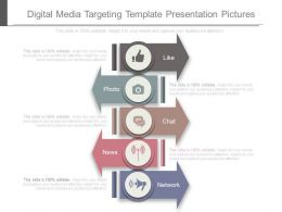 Digital Media Targeting Template Presentation Pictures