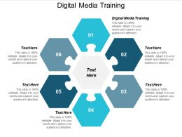 Digital Media Training Ppt Powerpoint Presentation Outline Inspiration Cpb