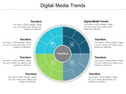 Digital Media Trends Ppt Powerpoint Presentation Ideas Infographic Template Cpb