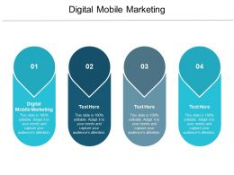 Digital Mobile Marketing Ppt Powerpoint Presentation Styles Designs Download Cpb