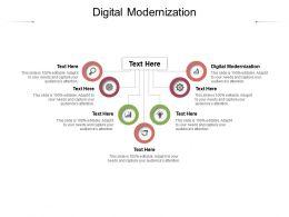 Digital Modernization Ppt Powerpoint Presentation Slides Layout Cpb