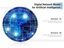 Digital Network Model For Artificial Intelligence