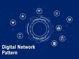 Digital Network Pattern