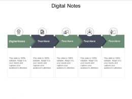 Digital Notes Ppt Powerpoint Presentation Gallery Slideshow Cpb