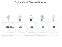 Digital Omni Channel Platform Ppt Powerpoint Presentation Outline Cpb
