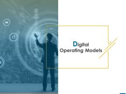 Digital Operating Models Marketing Planning Ppt Powerpoint Presentation Show Graphics