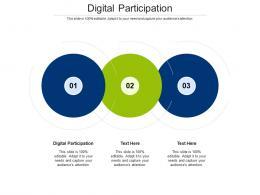 Digital Participation Ppt Powerpoint Presentation Ideas Slide Cpb