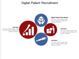 Digital Patient Recruitment Ppt Powerpoint Presentation Layouts Graphics Download Cpb