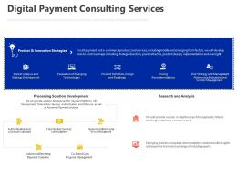 Digital Payment Consulting Services Ppt Powerpoint Presentation Pictures Samples