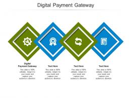 Digital Payment Gateway Ppt Powerpoint Presentation Pictures Vector Cpb