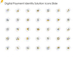 Digital Payment Identity Solution Icons Slide Ppt Layouts Graphics Example