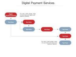 Digital Payment Services Ppt Powerpoint Presentation Styles Example Cpb
