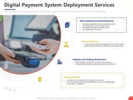 Digital Payment System Deployment Services Ppt Powerpoint Presentation Styles Layout