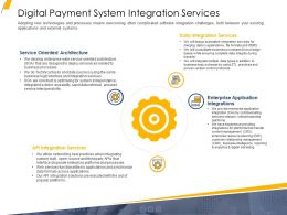 Digital Payment System Integration Services Ppt Gallery Pictures