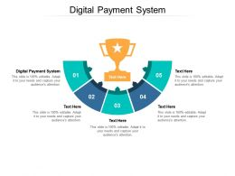 Digital Payment System Ppt Powerpoint Presentation Gallery Visual Aids Cpb