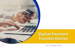 Digital Payment Transformation Powerpoint Presentation Slides